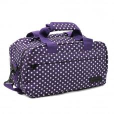 Сумка дорожная Members Essential On-Board Travel Bag 12.5 Purple Polka