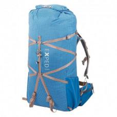 Рюкзак Exped LIGHTNING 45 deep sea blue O/S, синий