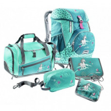 Школьный набор Deuter OneTwoSet - Sneaker Bag цвет 3037 petrol horse