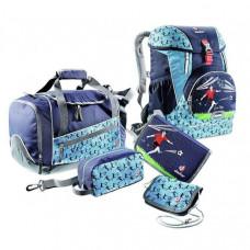 Школьный набор Deuter OneTwoSet - Sneaker Bag цвет 3045 navy soccer