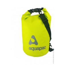 Гермомешок Aquapac с наплечным ремнем Trailproof Drybag 15L (acid green) w/strap зеленый