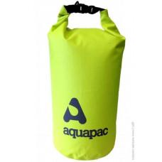Гермомішок Aquapac з наплечним ременемTrailproof Drybag 25L (acid green) w/strap зелений