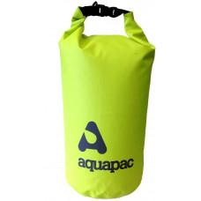 Гермомешок Aquapac с наплечным ремнем Trailproof Drybag 70L (acid green) w/strap зеленый