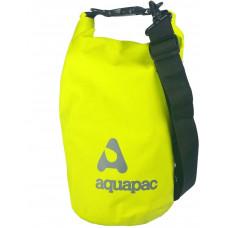 Гермомішок Aquapac з наплечним ременем Trailproof Drybag 7L (acid green) w/strap зелений