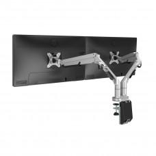 Кріплення для двох моніторів Loctek DLB851D2 White