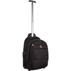 Рюкзак на колесах National Geographic (47 см) черный (N15402.06)
