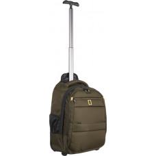Рюкзак на колесах National Geographic (47 см) хаки (N15402.11)