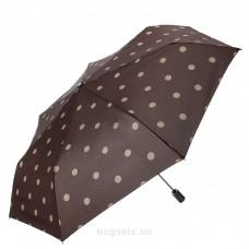 Зонт женский автомат Clima M&P (56/7) коричневый/горошек (5784.0514)