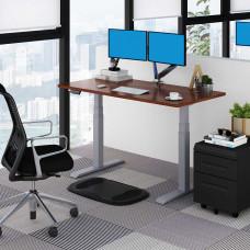 Стол с электрической регулировкой высоты Loctek ET203 Silver Grey