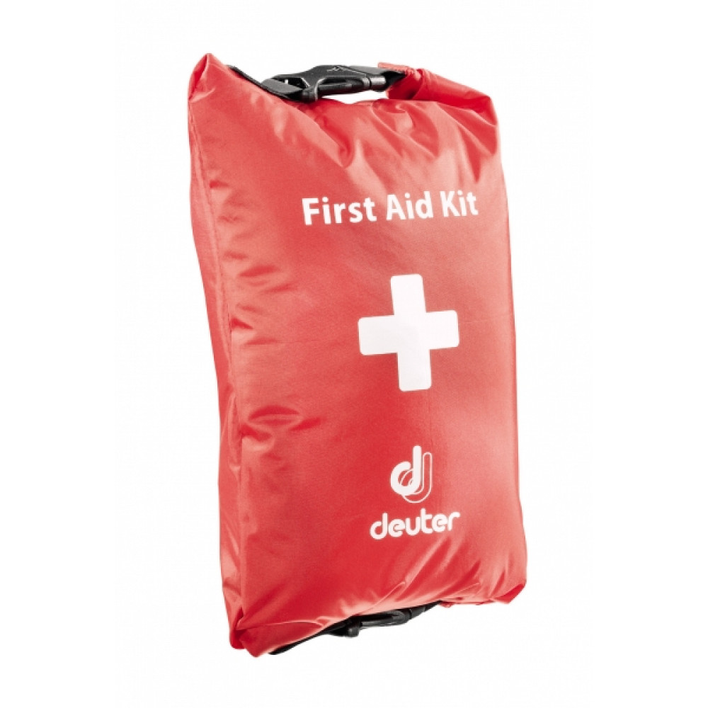 Фото Аптечка Deuter First Aid Kid DRY M цвет 505 fire заполненная