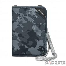Органайзер Pacsafe RFIDsafe V150 серый камуфляж