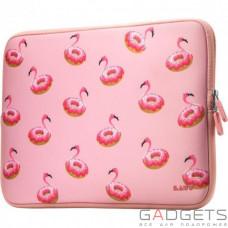 Чехол Laut Pop Sleeve для 13 MacBook Air / Pro Retina / Pro 2016 Розовый Фламинго (LAUT_MB13_PI_F)