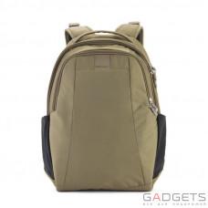 Рюкзак антивор Pacsafe Metrosafe LS350, 6 степеней защиты, хаки