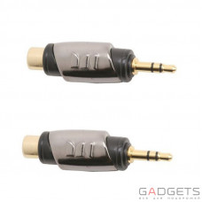 Адаптер Monster CableLinks Single Adapters RCA Female to 1/8 St Male (MON-600466-00)