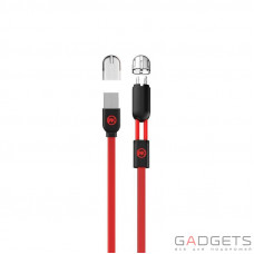 Кабель WK 2-in-1 Data Cable Red (WKC-001)