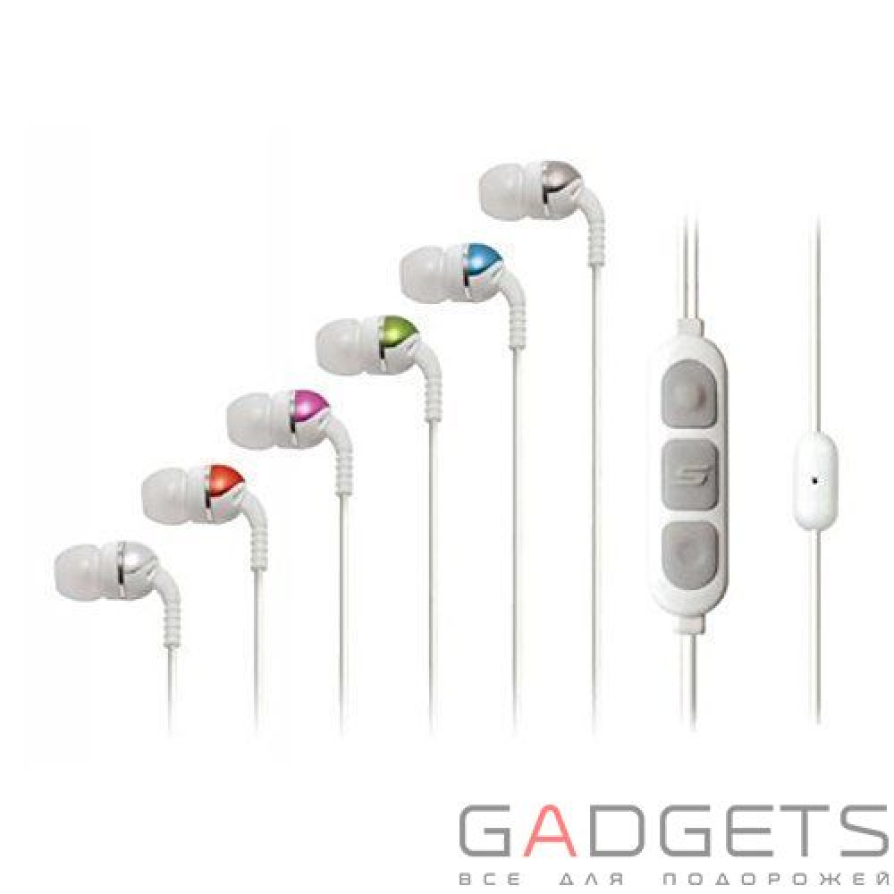 Фото Наушники Increased Dynamic Range Chameleon Earphones with tapLINE II Control Technology White