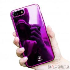 Чехол Baseus Glaze Case iPhone 7 Pink
