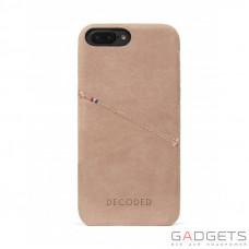 Чехол Decoded Leather Back Cover для iPhone 7 Plus Розовый (D6IPO7PLBC3RE)