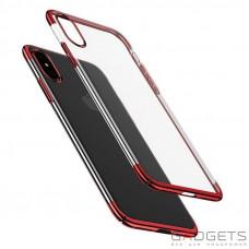 Чехол Baseus Glitter Case Red для iPhone X (WIAPIPH8-DW09)