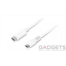 Кабель для передачи данных Macally USB-C Charge/Sync Cables белый (UC2UMB-W)