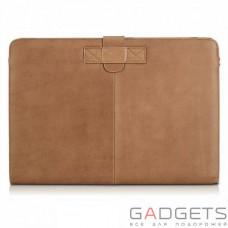 Чехол Decoded Slim Cover for MacBook Pro Retina 15, светло-коричневый
