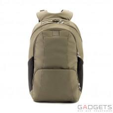 Рюкзак антивор Pacsafe Metrosafe LS450, 6 степеней защиты, хаки