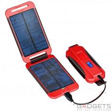Вологостійка сонячна батарея Powermonkey Extreme 9000 mAh RED
