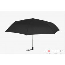 Зонт складной женский Maison Perletti Piatto Catene Черный (16227.1;7669)