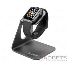 Подставка для Apple Watch Laut AW-Stand Gun Metal (LAUT_AW_WS_GM)