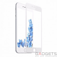 Защитное стекло Baseus 0.2mm silk screen printed full-screen protector для iPhone 7 Plus White