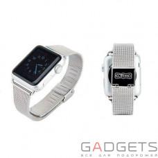 Ремешок COTEetCI W2 Milanese Band для Apple Watch 42mm Silver