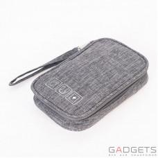 Дорожный органайзер для аксессуаров Travelty Basics S Grey (TR-BS-GR)