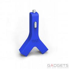 Автомобільний зарядний пристрій TYLT Y-Charge Car Charger, 4.2А Blue (YCHG42BL-T)