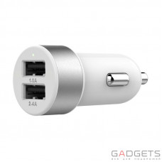 Автомобильное з/у Lab.C Dual USB Car Charger A.L White Silver (3.4 A) (LABC-582-SV_N)