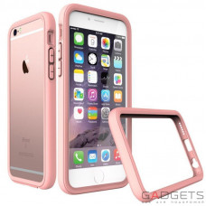 Бампер Evolutive Labs RhinoShield Crash Guard Shell Pink для iPhone 66s