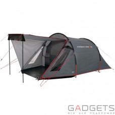 Палатка High Peak Ascoli 3 (Dark grey/Red)