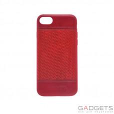 Чохол  Polo Chevron для iPhone 7/8 Plus Red (SB-IP7SPCHR-RED-1)