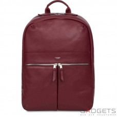 Рюкзак Knomo Beaux Leather Backpack 14 Burgundy (KN-120-401-BUR)