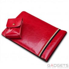 Чехол для ноутбука COTEetCI Leather Sleeve Bag 11'' Red (CS5127-RD)