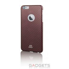 Чехол Evutec S Karbon Case для iPhone 6/6s Kozane Красный/черный (AP-006-CS-K02)