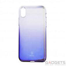 Чехол Baseus Glaze Case Transparent Black для iPhone X (WIAPIPH8-GC01)