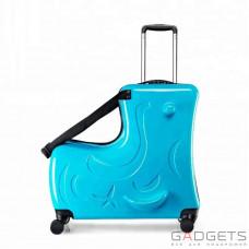 Детский чемодан Travel Kid Blue Sky (M)
