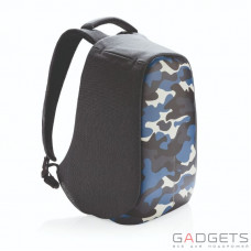 Рюкзак XD Design Bobby anti-theft backpack Camouflage Blue (P705.655)