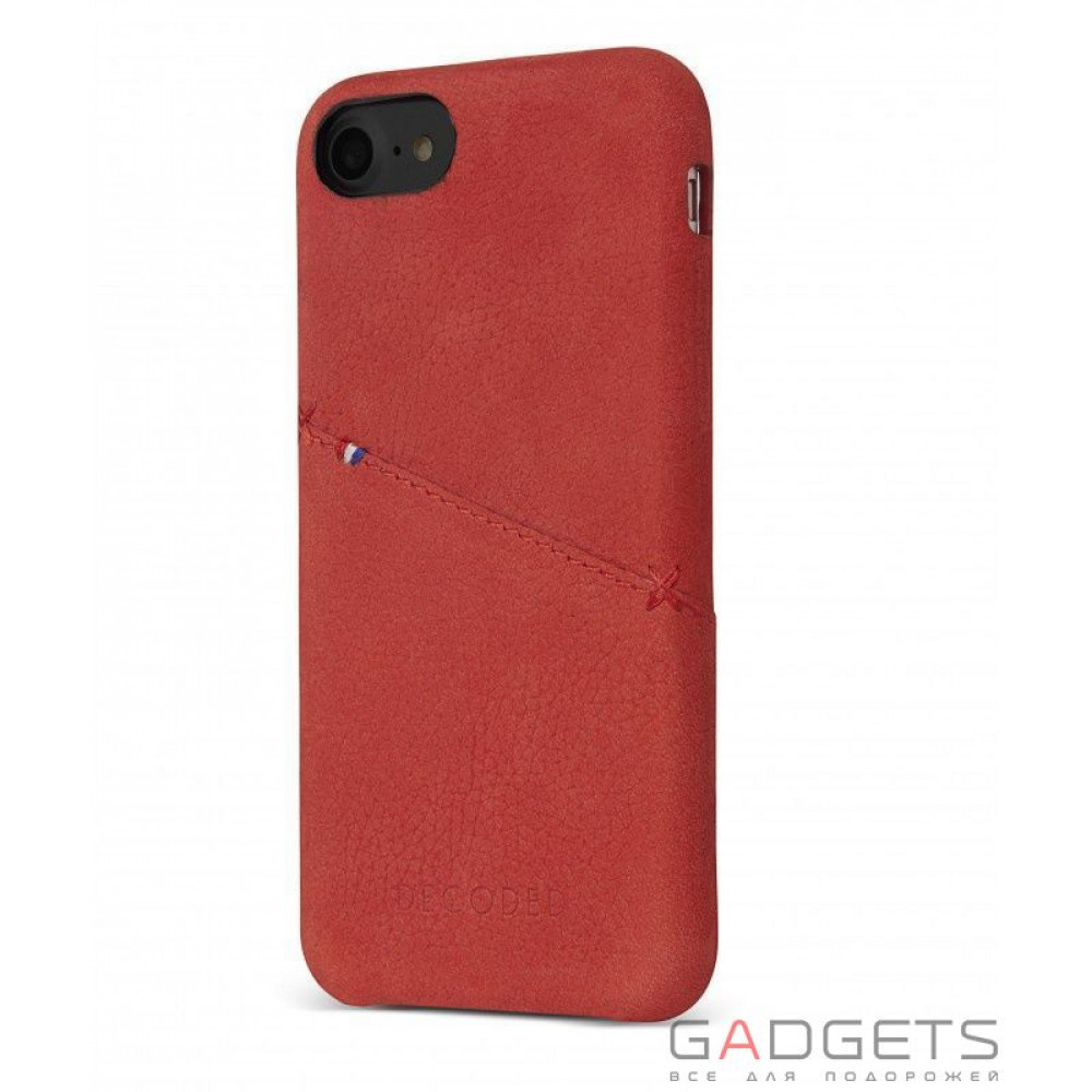 Фото Чехол Decoded Leather Back Cover для iPhone 7 red (D6IPO7BC3RD)