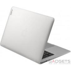 Чехол-накладка Laut Huex для MacBook Air 13 (2018), белый арктический