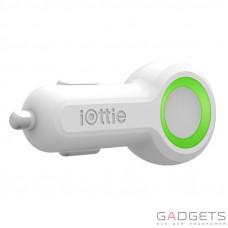 Автомобильное з/у iOttie Rapid VOLT Max Dual Port USB Car Charger White (5 A) (CHCRIO104WH)