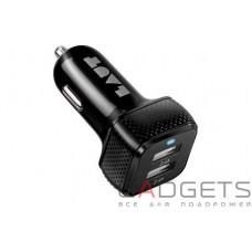 Автомобільний зарядний пристрій Laut Car chargers чорний (LAUT_PD02_BK)