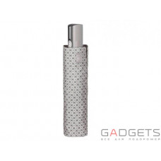 Зонт складной женский Perletti Technology Цветы Серый (21608;5448)