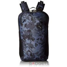 Рюкзак антивор Pacsafe Vibe 20, 5 степеней защиты, черный-камуфляжный
