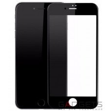 Защитное стекло Baseus 0.2mm Silk-screen Tempered Glass Black для iPhone 8 Plus (SGAPIPH7SP-ASL01)